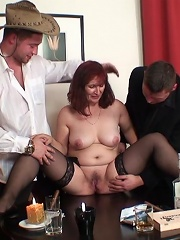 Grandma Makes Two Guys Fuck Her Pussy And Mouth After A Game Of Sexy Strip Poker^grandma Friends Mature Porn Sex XXX Mature Mom Free Pics Picture Gall
