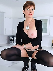 Black Opaque Nylons^lady Sonia Mature Porn Sex XXX Mature Mom Free Pics Picture Gallery
