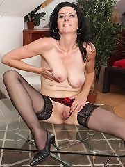 Mary-sue Spreads Removes Her Lacey Panties And Spreads Her Legs^all Over 30 Mature Porn Sex XXX Mature Matures Mom Moms Erotic Pics Picture Gallery Fr