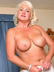 Milf With Big Plump Boobs Speads Her Mature Pussy For Us^all Over 30 Mature Porn Sex XXX Mom Picture Pics