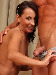 Horny Milf Sandy K Plants Her 36 Year Old Pussy On Willing Cock^all Over 30 Mature Porn Sex XXX Mature Matures Mom Moms Erotic Pics Picture Gallery Fr